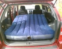 Toyota Highlander Club - Надувной матрас = отличное спальное место в машине